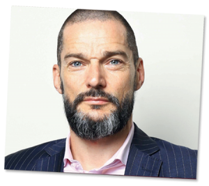 Supported by First Dates-Fred Sirieix
