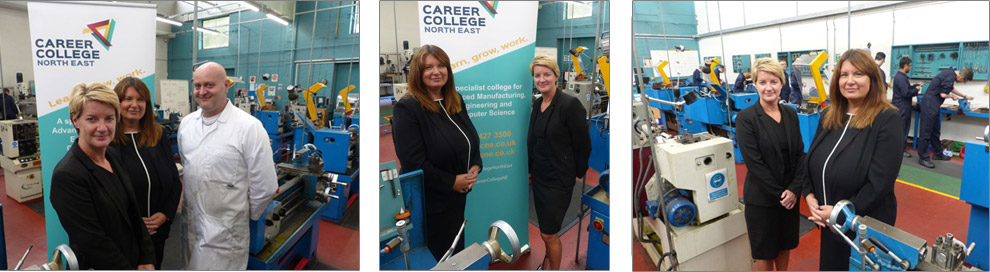 Victoria Cramman has begun her reign at Career College North East (CCNE)